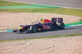 Team Red Bull Racing F1, Mark Webber, 2011 — Stockfoto