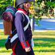 Historical military reenacting — Stockfoto #8104988