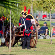 Historical military reenacting — Foto Stock #8104997
