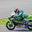 Hector Faubel pilot of 125cc  of the MotoGP - Photo