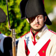 Historical military reenacting - Foto de Stock