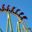 Roller Coaster — Stock Photo #8105872