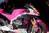 Ivan moreno piloten i moto2 cev championship — Stockfoto