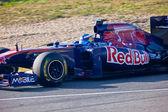 Team Toro Rosso F1, Daniel Ricciardo, 2011 — Stock Photo