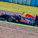 Team Red Bull Racing F1, Mark Webber, 2011 — Stock Photo #8527661