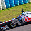 Team McLaren F1, Jenson Button, 2011 - Stock Photo