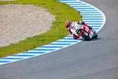 Stefan bradl pilot moto2 v motogp — Stock fotografie