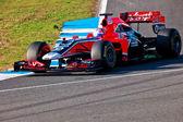 Team Virgin F1, Timo Glock, 2011 — Foto Stock