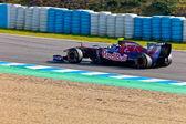 Team Toro Rosso F1, Jaime Alguersuari, 2011 — Foto de Stock