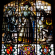 Stained glass window — Stockfoto #8706594
