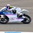 Sergio Gadepilot of 125cc in MOTOGP — Stock Photo #8707027