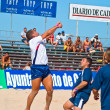 图库照片: Spanish Championship of Beach Soccer , 2005