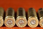 Conjunto de balas — Fotografia Stock