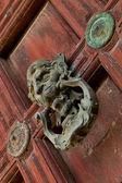 Doorknocker — 图库照片