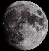 Księżyc — Zdjęcie stockowe
