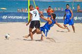 Campeonato de españa de fútbol playa, 2006 — Foto de Stock