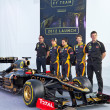 Presentation of Lotus Renault E20, 2012 — Stock Photo #8890753