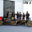 Stock Photo: Presentation of the Lotus Renault E20, 2012