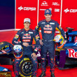 Presentation of the Toro Rosso STR7, 2012 — Stock Photo