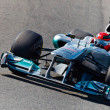 Team Mercedes F1, Michael Schumacher, 2011 - Stock Photo