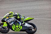 Piloto de andrea iannone de moto2 en el motogp — Foto de Stock