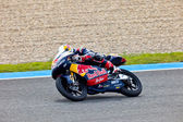 Danny Kent pilot of 125cc in the MotoGP — Stock Photo