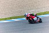 Miguel oliveira piloot van 125cc van de motogp — Stockfoto