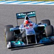 Team Mercedes F1, Michael Schumacher, 2012 - Foto Stock