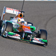 Team Force India F1, Paul Di Resta, 2012 - Stock Photo