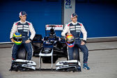 Presentation of the Williams FW34, 2012 — Stock Photo
