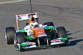 Team Force India F1, Paul Di Resta, 2012 — Stock Photo