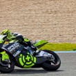 Andrea Iannone pilot of Moto2 in the MotoGP — Stock Photo
