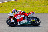 Stefan bradl pilot moto2 w motogp — Zdjęcie stockowe