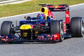Team Red Bull F1, Mark Webber, 2012 — Stock Photo