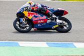 Pilota di jonas folger del motociclismo di 125cc nel mondo champio — Foto Stock