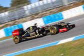 Team Lotus Renault F1, Kimi Raikkonen, 2012 — Stock Photo