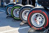 Pneumatic tires Pirelli — Stock Photo