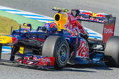 Team Red Bull F1, Mark Webber, 2012 — Stock Photo