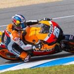 Постер, плакат: Dani Pedrosa pilot of MotoGP