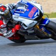 Jorge Lorenzo pilot of MotoGP - Stock Photo