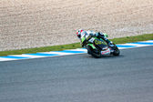 Hector Faubel pilot of 125cc of the MotoGP — ストック写真
