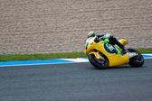 Piloto de simone corsi de moto2 de la motogp — Foto de Stock