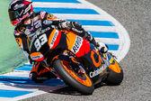 Marc Marquez pilot of Moto2 of the MotoGP — Stock Photo