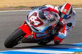 Mattia Pasini pilot of MotoGP — Stock Photo