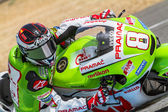 Hector Barbera pilot of MotoGP — Stock Photo