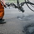 Repairing roads — Stock Photo