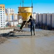 Stock Photo: Commercial concreting and building reinforced concrete structures