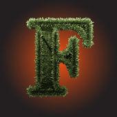 Figure de herbe vector — Vecteur