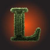 Vektor gräs figur — Stockvektor
