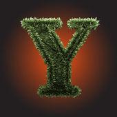Vector gras figuur — Stockvector
